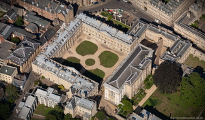 Peckwater Quadrangle, Oxford  aerial photograph