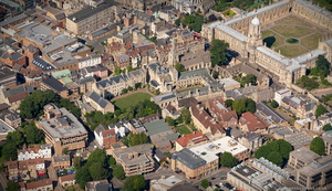 Pembroke College, Oxford aerial photograph