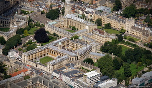 The Queen's College, Oxford from the air