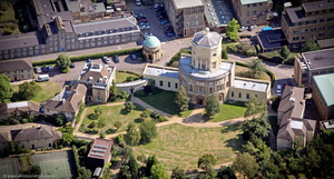 Radcliffe Observatory Oxford  aerial photograph
