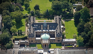 Rhodes House Oxford  aerial photograph