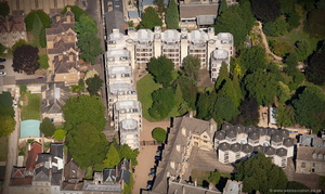 Sir Thomas White Building, St John's College, Oxford  University aerial photograph