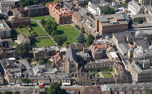 Somerville College, Oxford aerial photograph