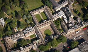 St John's College, Oxford aerial photograph