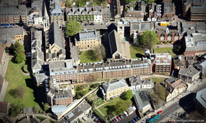 St Peter's College, Oxford  aerial photograph