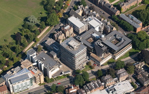 Thom Building. Department of Computer Science Oxford Universityaerial photograph