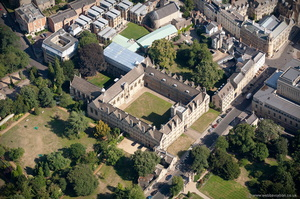 Wadham College, Oxford aerial photograph