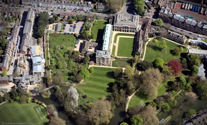 Worcester College, Oxford  aerial photograph
