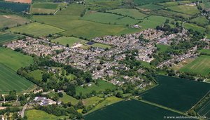 Middle Barton from the air
