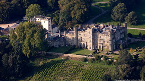 Apley Hall from the air