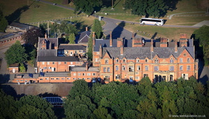 Boreatton Park from the air