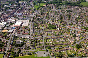 Newport Shropshire from the air