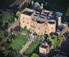 Rowton Castle from the air