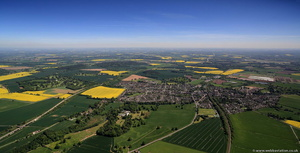 Shifnal from the air