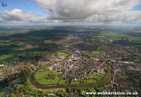 Shrewsbury aerial photographs