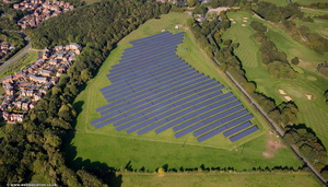 Granville Road Solar Farm ,  Donnington Telford  from the air
