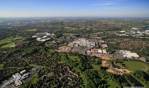 Telford  Shropshire from the air