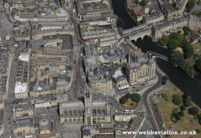 Bath Somerset aerial photograph