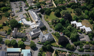 Bath Spa Hotel  aerial photograph