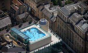 Thermae Bath Spa aerial photograph