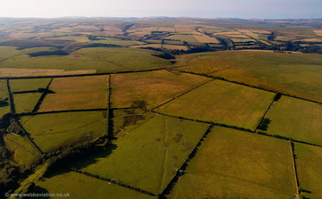 Exmoor National Park aerial photograph