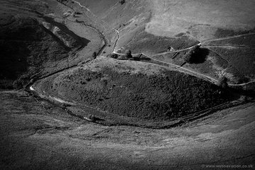 Flexbarrow Exmoor National Park aerial photograph