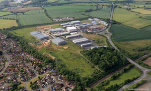 Commerce Park Frome aerial photograph