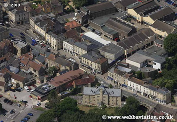 Frome Somerset aerial photograph