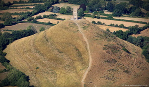 Glastonbury Tor from the air