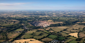 Gurney Slade Somerset aerial photograph