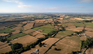 Mendip District farmland  aerial photograph