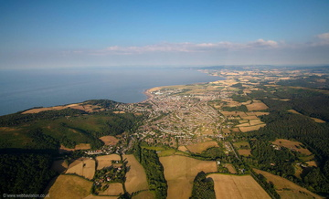 Minehead from the air