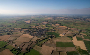 Somerset Levels  aerial photograph