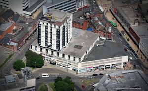 Grosvenor House Hotel   Sheffield from the air