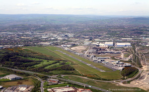 Sheffield City Airport   EGSY from the air
