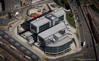 Sheffield Digital Campus from the air