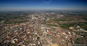 Sheffield from the air
