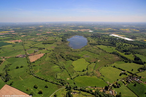Aqualate Mere  from the air
