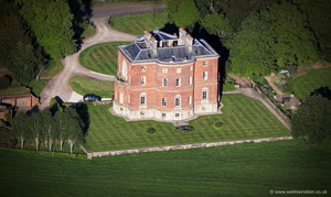 Barlaston Hall from the air