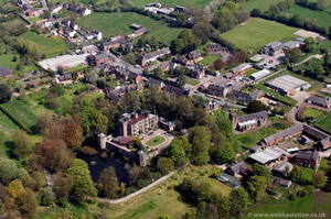 Caverswall Staffordshire  from the air