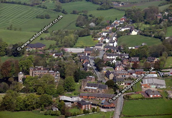 Caverswall Staffordshire aerial photograph