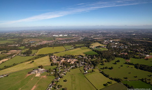 Keele, Staffordshire from the air