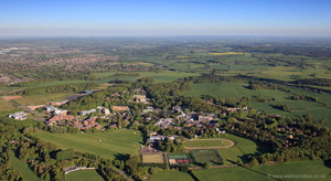 Keele University from the air