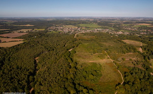 Kinver Edge from the air
