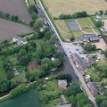 Fradley Junction near  Lichfield   aerial photograph