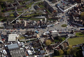 Penkridge Staffordshire aerial photograph