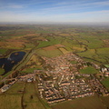 Rocester  from the air
