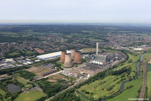 Rugeley Power Station taken on its last day of operation