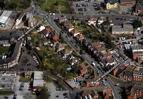 Rudgley Staffordshire aerial photograph