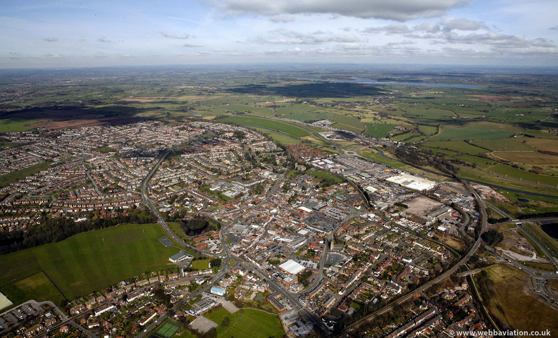 Rugeley from the air
